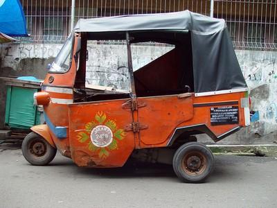 Bajaj in Jakarta