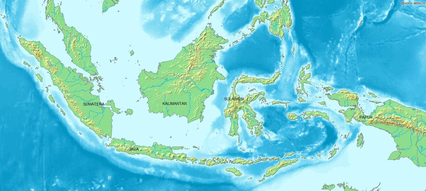 Indonesia Largest Islands