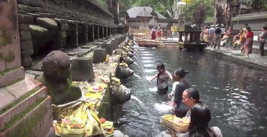 Holy water Temple