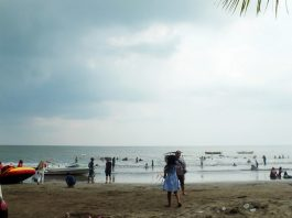 The Anyer Beach
