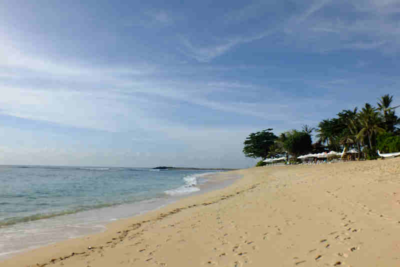 Beuatiful Nusa Dua Beach