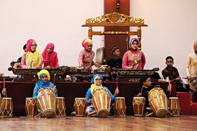 Sundanese Degung ensemble