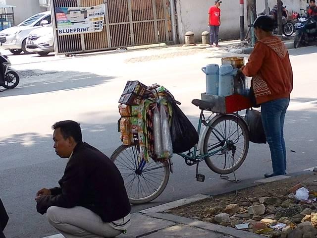 mobile coffee kiosk in Jakarta C